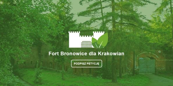 Fort Bronowice dla Krakowian - Podpisz petycję