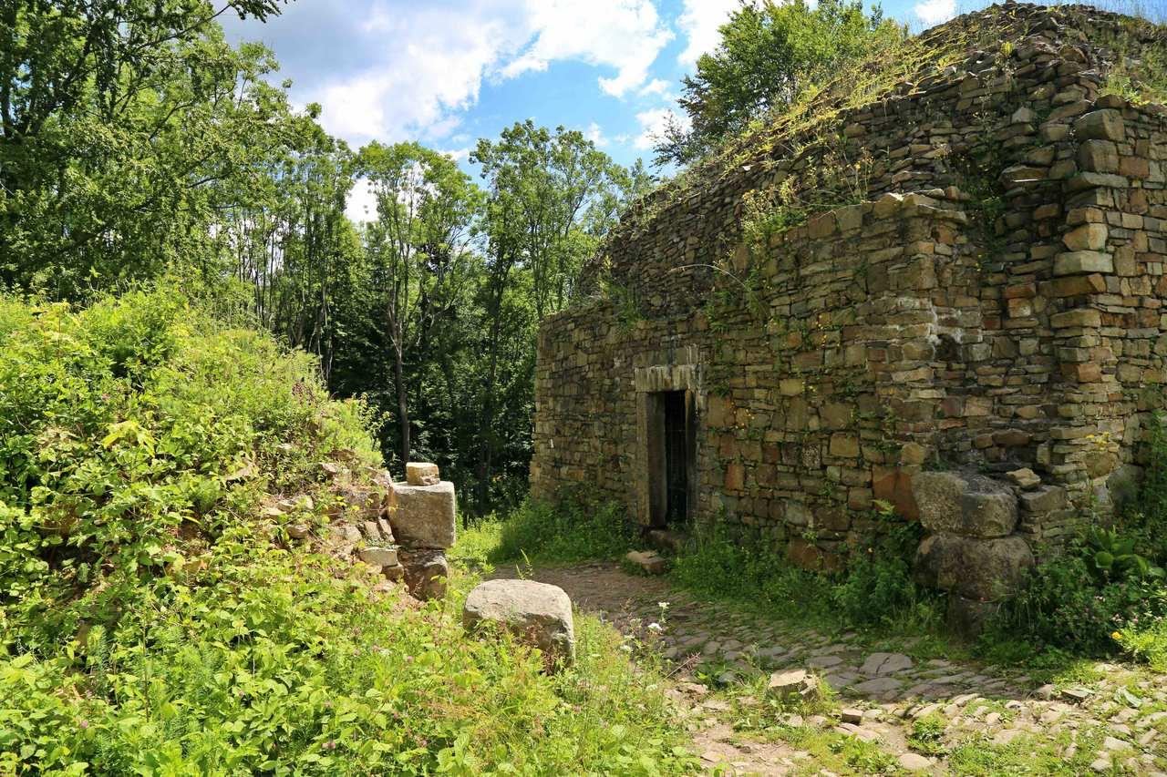 Lanckorona - ruiny zamku