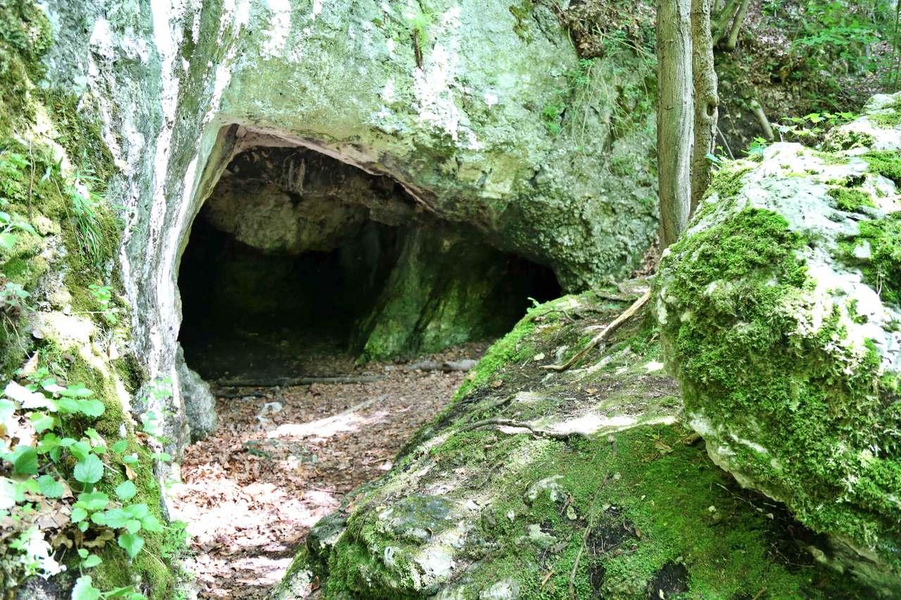 Jaskinia w dolinie Mnikowskiej