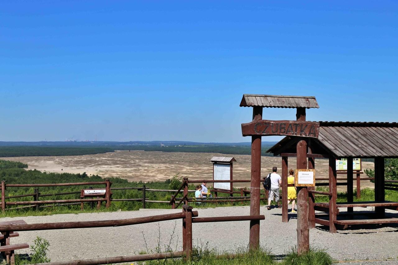 Pustynia Błędowska - wzgórze Czubatka