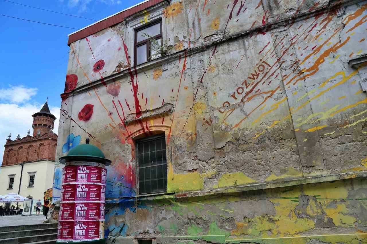 Tarnów - mural