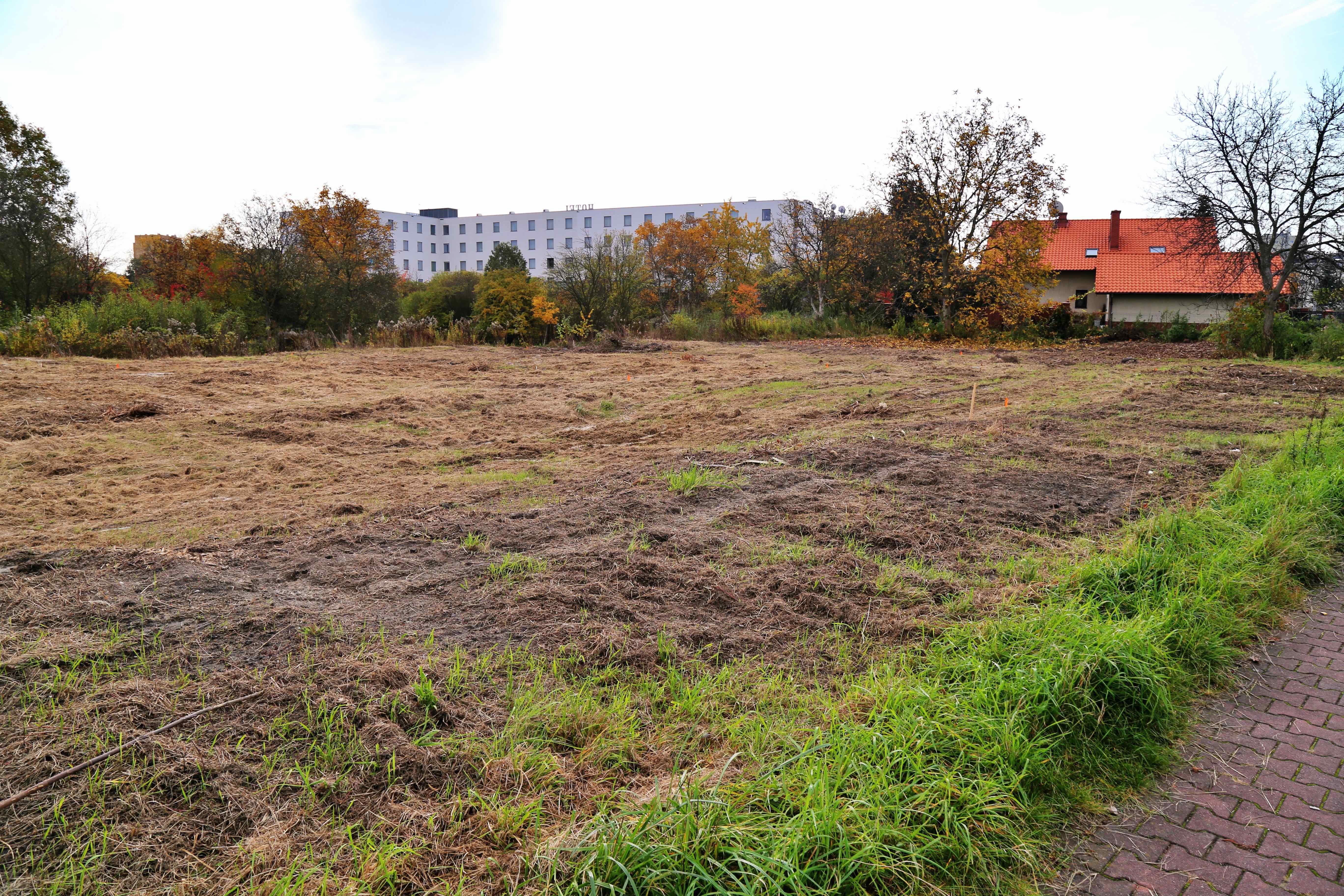 Miejsce pod inwestycję przy ul. Gdyńskiej